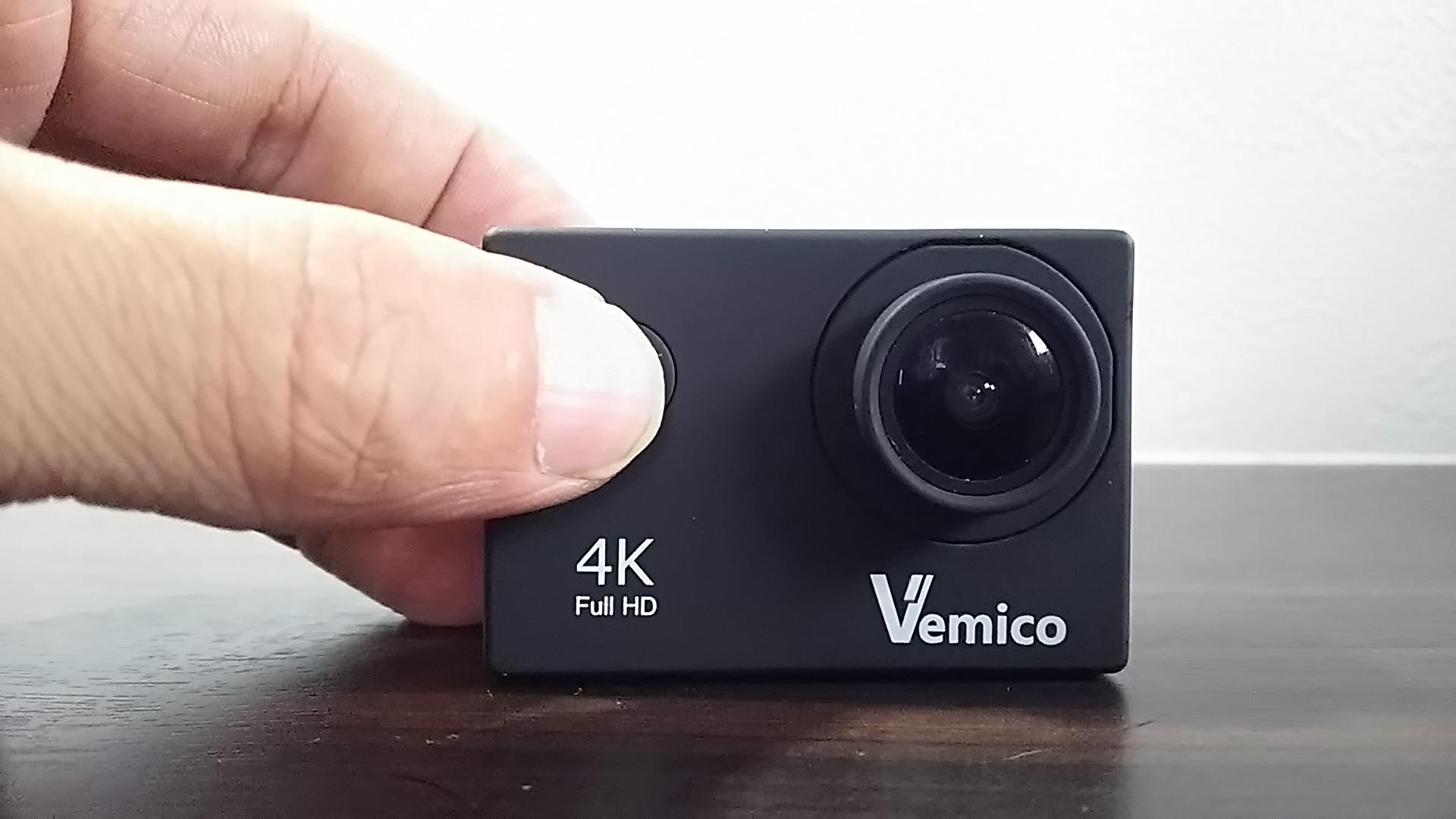 アクションカム「Vemico4kWi-Fi」撮影時のデータサイズと撮影時間