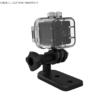 人気ミニカメラSQ12の防水ケース付き